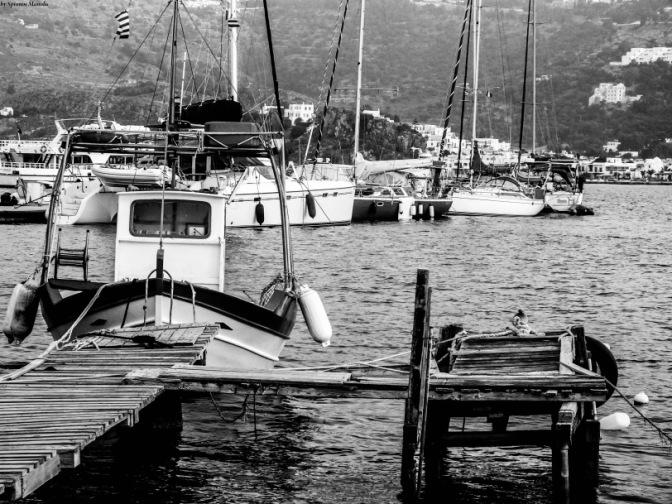 Fishing boats port