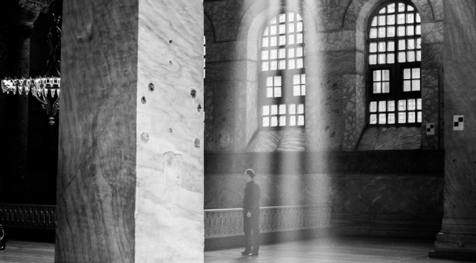 Magical light…2(in the church of Hagia Sophia in Istanbul)