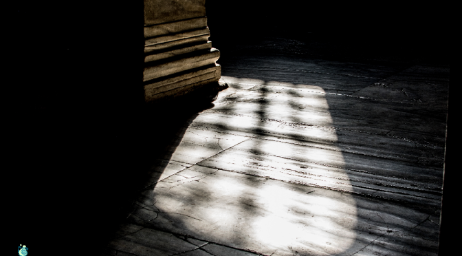 Μagical light…1(in the church of Hagia Sophia in Istanbul)