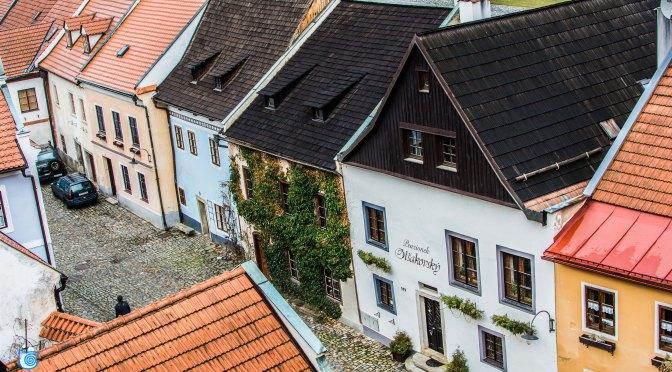 Α small beautiful Czech village
