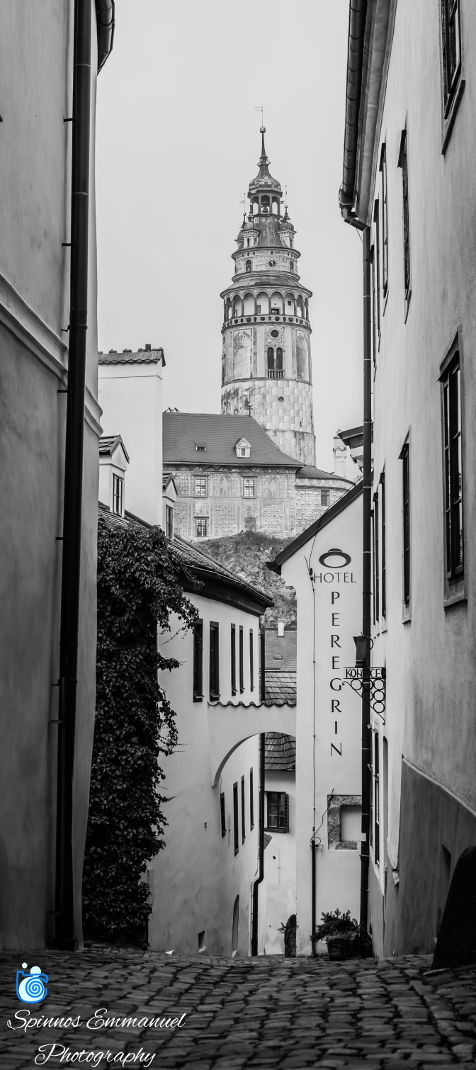Walking the narrow streets of Czech