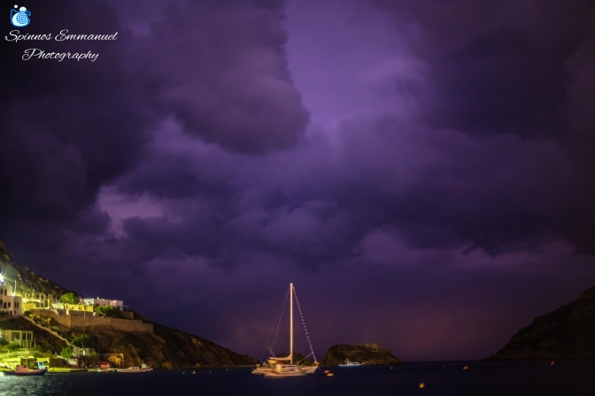 Sailing in the storm