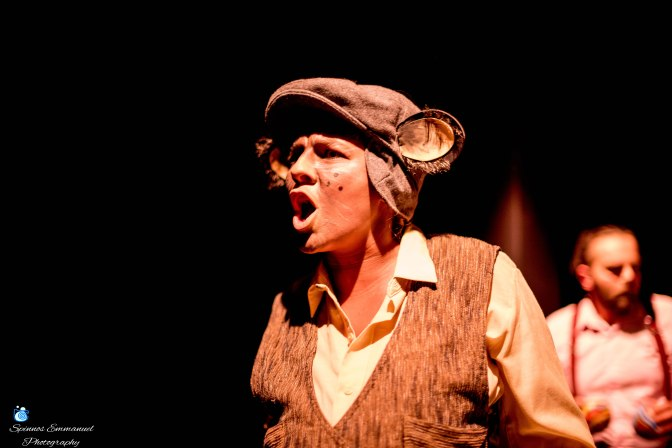 "PHOTOS FROM THE PLAY ""COCKROACH""..10"