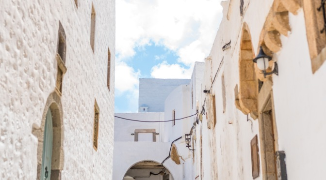 alleys in patmos
